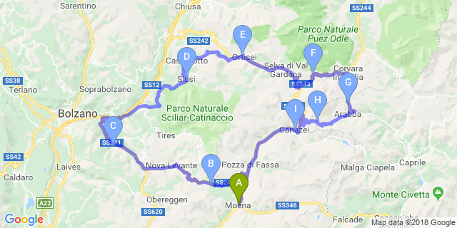 Cerca Moto Itinerari Selva Val Gardena Motoitinerari It