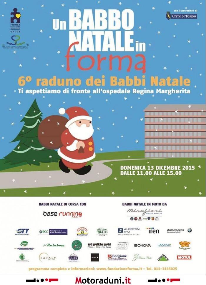 Posizione Babbo Natale.Un Babbo Natale In Forma 6 Ed Motoraduno Torino To Dal 13 12