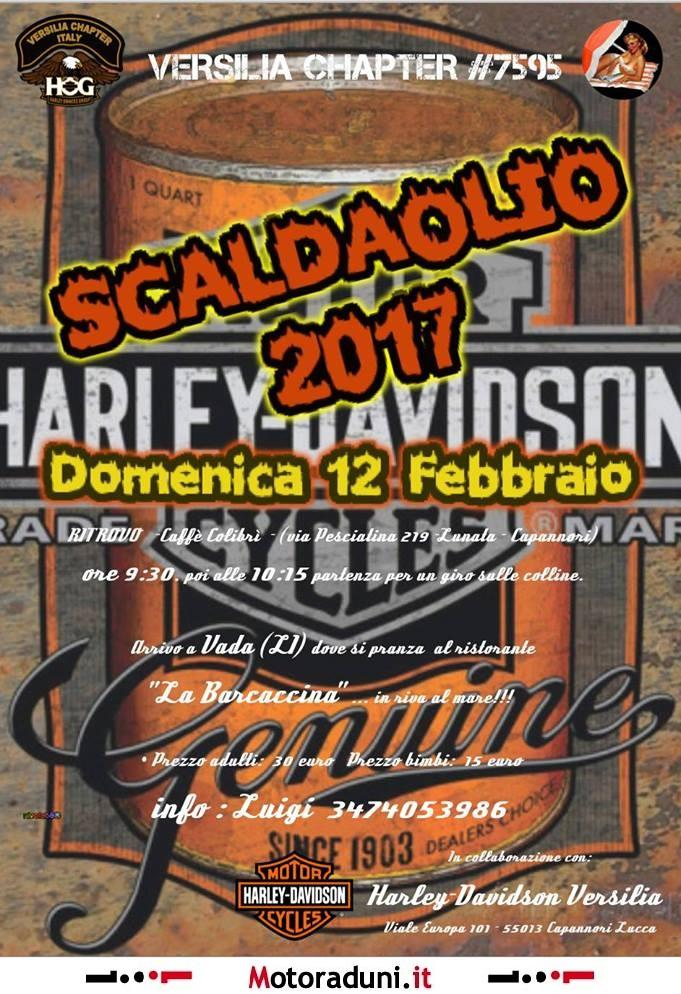 scaldaolio 2017 - motoraduno - capannori lu dal 12/02/2017 al 12