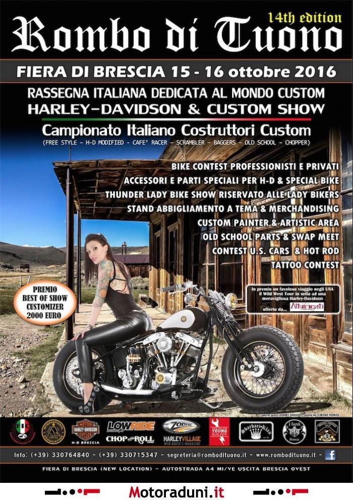 Rombo di tuono 2016 2016 fiera brescia bs for Fiera di bergamo 2016