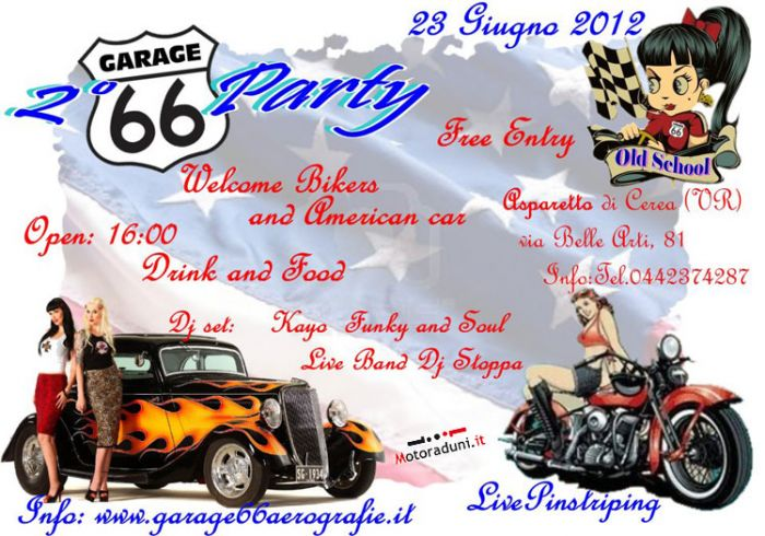 23 giu 2° Garage66 Party (VR) Raduno0405201271139