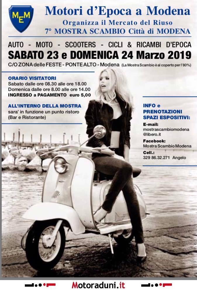 Calendario Mostre Scambio.7 Motori D Epoca A Modena 2019 Mostra Scambio Modena Mo
