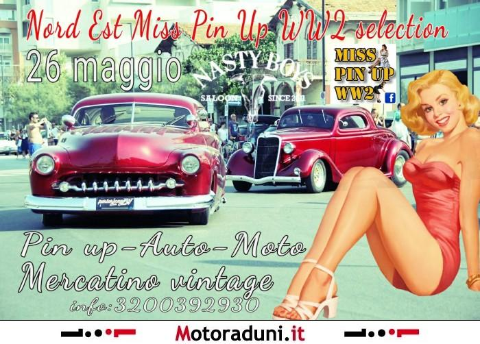 MISS PIN UP WW2 - motoincontro - Treviso TV dal 26/05/2018 al 26/05/2018
