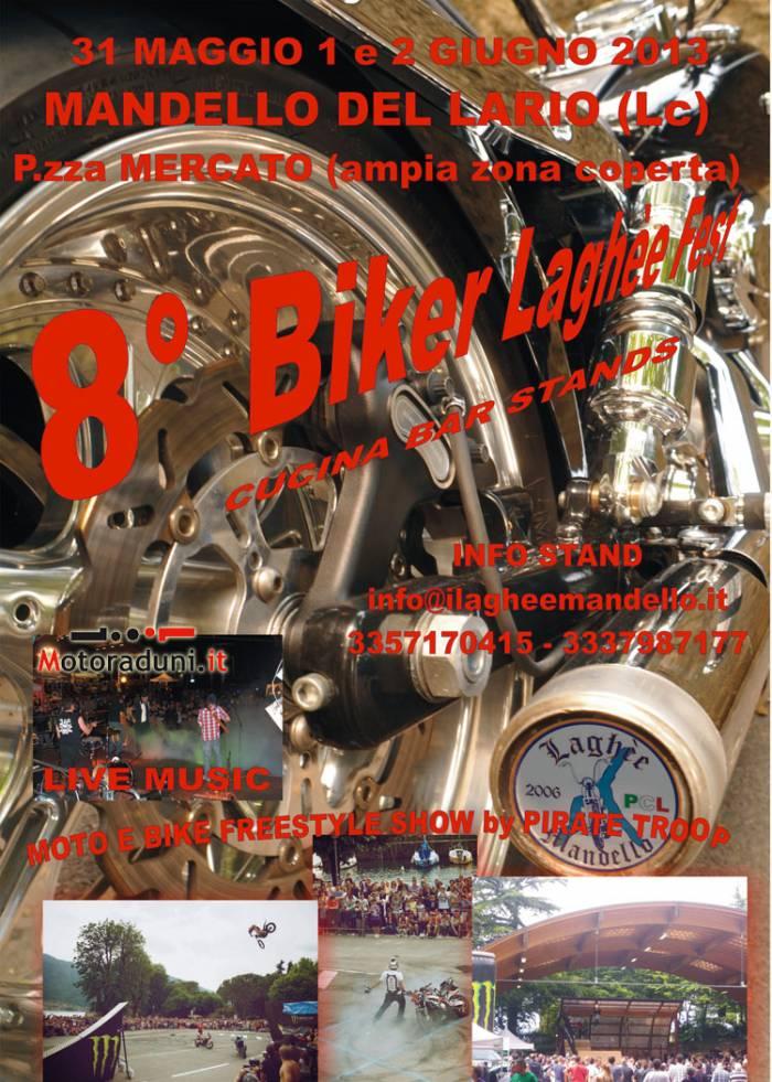 31 magg 2 giugn -  8° BIKER LAGHEE FEST (Lecco) Raduno20022013224915