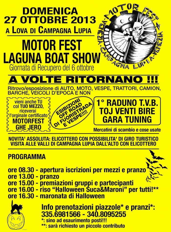 Motor Fest Laguna Boat Show Mostra Scambio Campagna