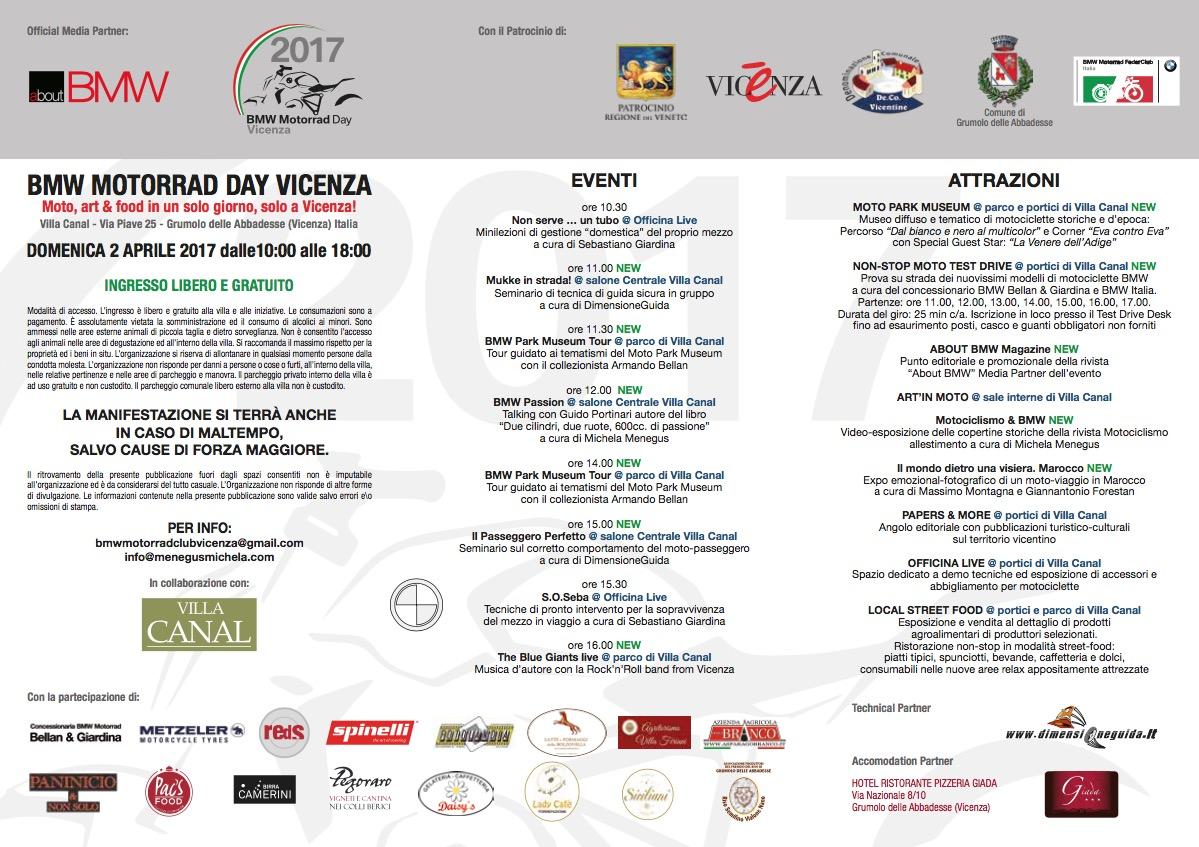 bmw motorrad day vicenza 2017 2017 - motoincontro - grumolo delle